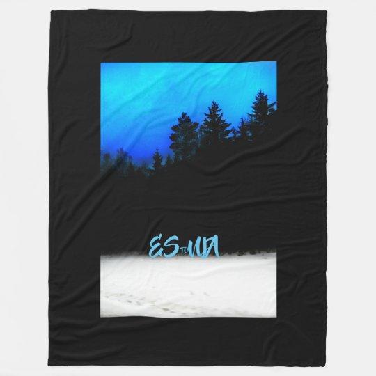 Fleece blanket ESTONIA