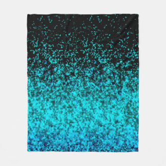 Fleece Blanket Glitter Dust