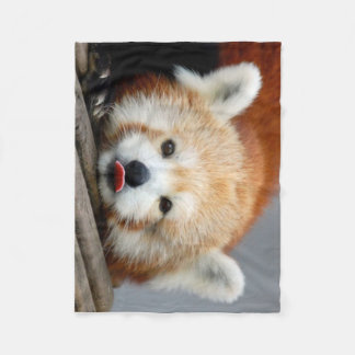 Fleece Blanket/Red Panda