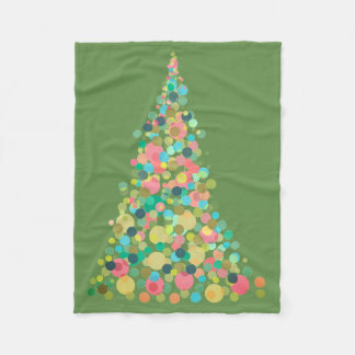 Fleece Blanket, Small Holiday tree