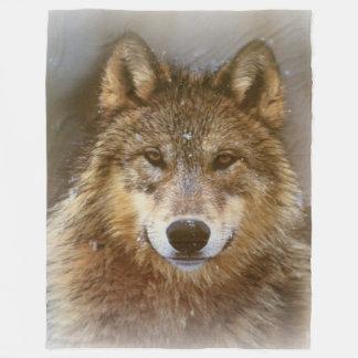 Fleece Blanket/Wolf