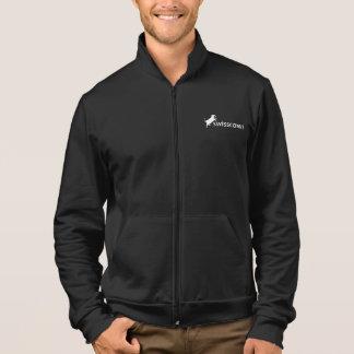 Fleece Jacke für Männer schwarz Jacket
