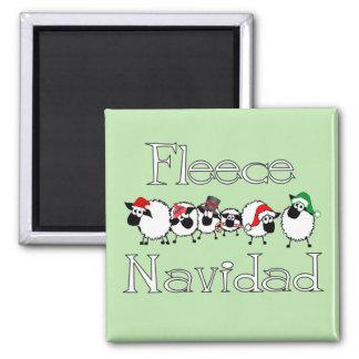 Fleece Navidad Fridge Magnet