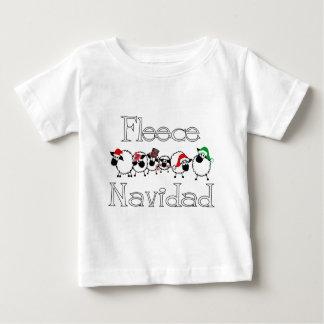 Fleece Navidad Funny Christmas Apparel Baby T-Shirt