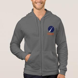 Fleece Zip Hoodie With Copenhagen Suborbitals Logo