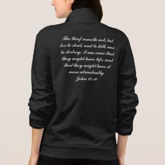 Fleece Zip Jogger Jacket
