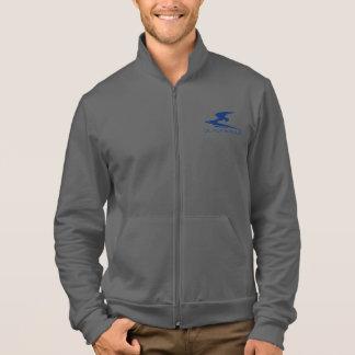 Fleece Zip Jogger Printed Jackets