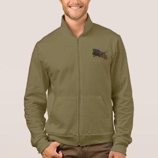 Fleece Zipper Jogger Jackets