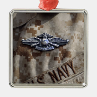 Fleet Marine Force Warfare device pin Christmas Ornament