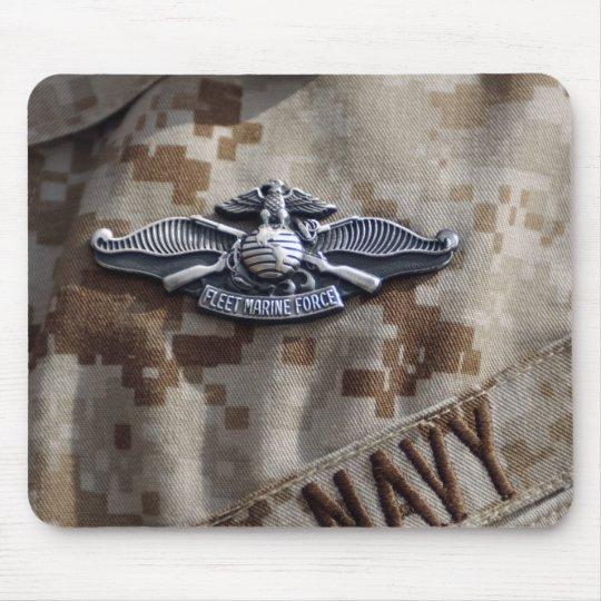 Fleet Marine Force Warfare device pin Mouse Pad