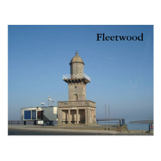 Fleetwood Lower Lighthouse Postcard