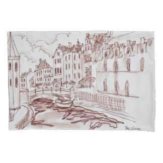 Flemish Architecture | Ghent, Belgium Pillowcase