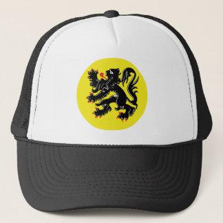 Flemish lion of Flanders cap