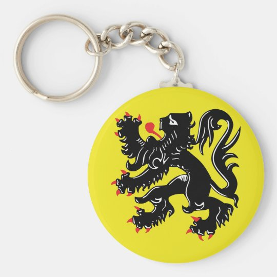 Flemish lion of Flanders key-ring Key Ring