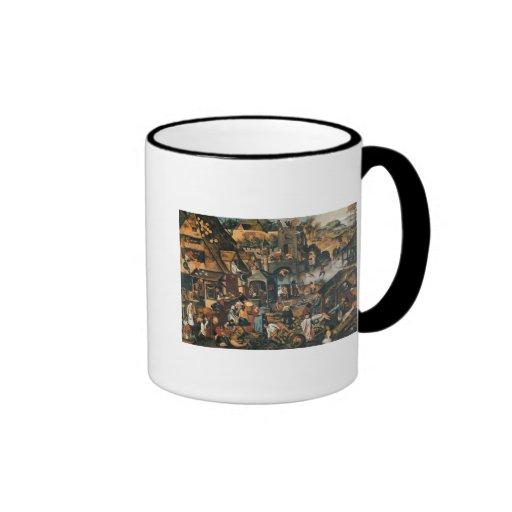 Flemish Proverbs Coffee Mug