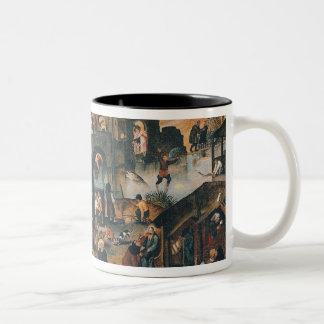 Flemish Proverbs Two-Tone Coffee Mug