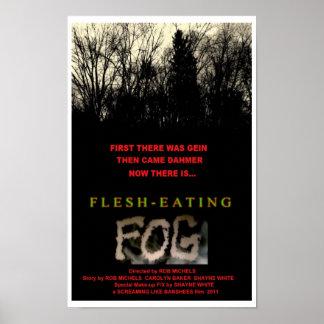 FLESH-EATING FOG POSTER