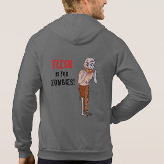 Flesh is for Zombies Vegan Hoodie