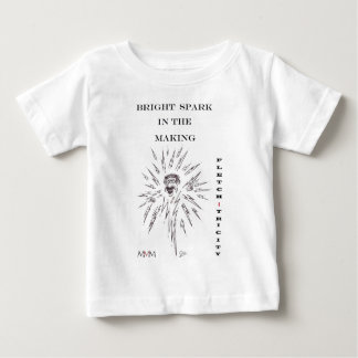 Fletch-tricity - Bright spark in the making Baby T-Shirt
