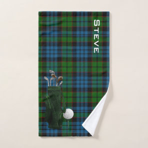 Fletcher Plaid Golf Towel