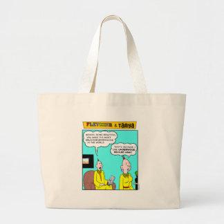 Fletcher & Tanya Jumbo Tote Bag