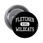 Fletcher - Wildcats - High - Fletcher Oklahoma Pinback Buttons