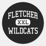 Fletcher - Wildcats - High - Fletcher Oklahoma Stickers