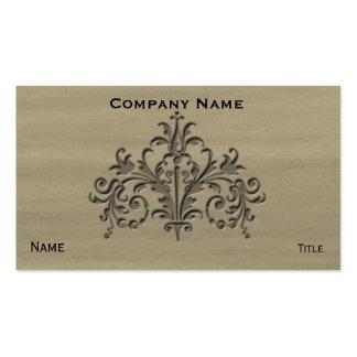 Fleur 1 pack of standard business cards