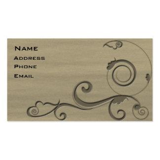 Fleur 3 pack of standard business cards