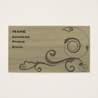 Fleur 3 business card