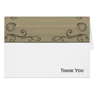 Fleur 3 stationery note card