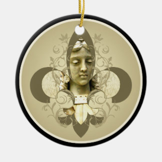 Fleur Angel Statue ornament