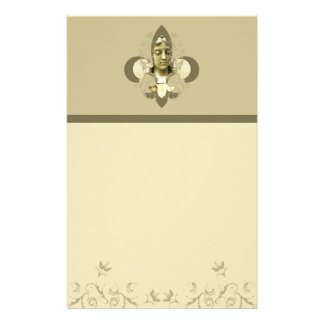Fleur Angel Statue stationary Stationery Paper