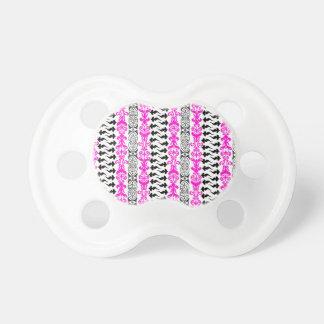 Fleur Custom 1 Pink Pacifiers