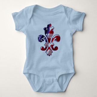 Fleur de Flag  infant creeper