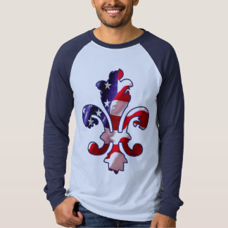 Fleur de Flag t-shirt