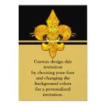 Fleur de Guardian 13 Cm X 18 Cm Invitation Card