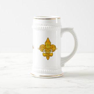 Fleur de Guardian Beer Steins