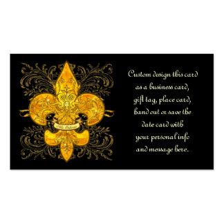 Fleur de Guardian Business Cards
