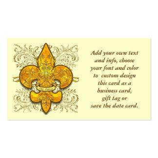 Fleur de Guardian Business Card Template