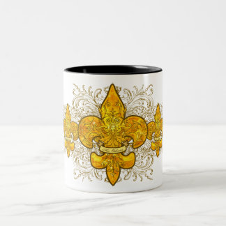 Fleur de Guardian Two-Tone Coffee Mug