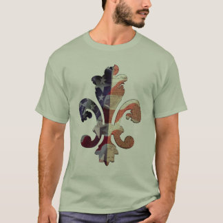 Fleur de Independence Flag  t-shirt