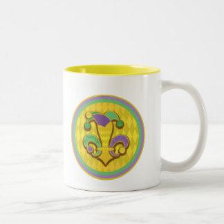 Fleur de Jester Coffee Mug