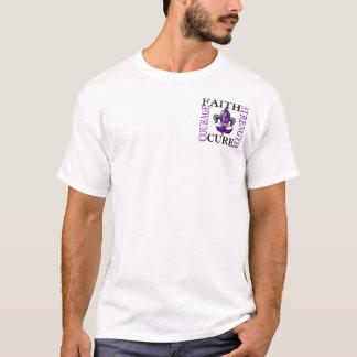 Fleur De Lis 3 Alzheimer's Disease T-Shirt