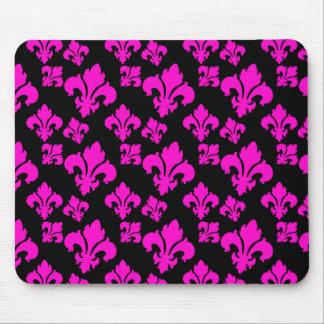 Fleur De Lis 4 Pink Mousepads