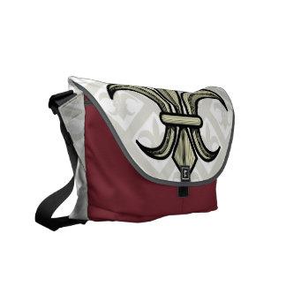 Fleur-de-Lis Bag (gold) Commuter Bag