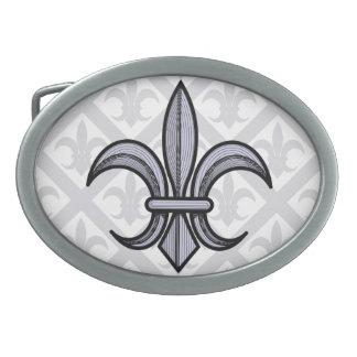 Fleur-de-Lis Belt Buckle (silver)