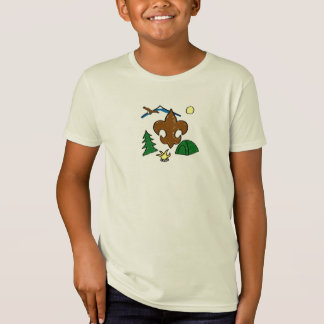 Fleur-de-lis Camping T-Shirt