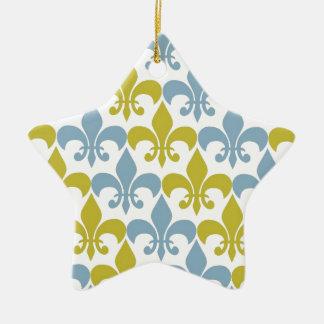 Fleur De Lis Christmas Ornament