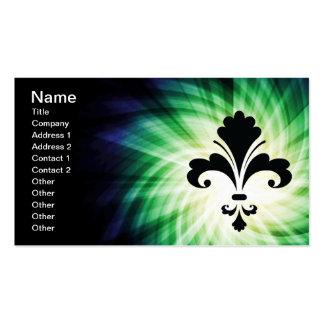 Fleur de lis; Cool Pack Of Standard Business Cards